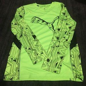 Youth boys long sleeve puma shirt